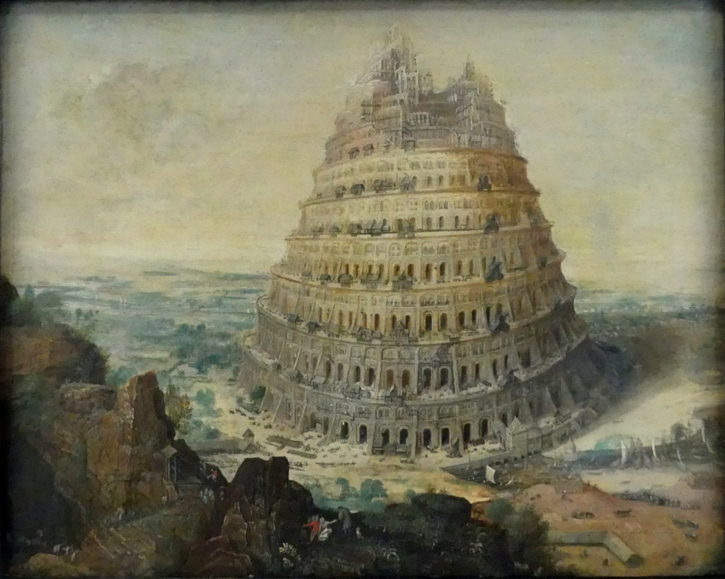 Image result for tower of babel picture
