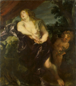 Anthony Van Dyck: The penitent Mary Magdalene