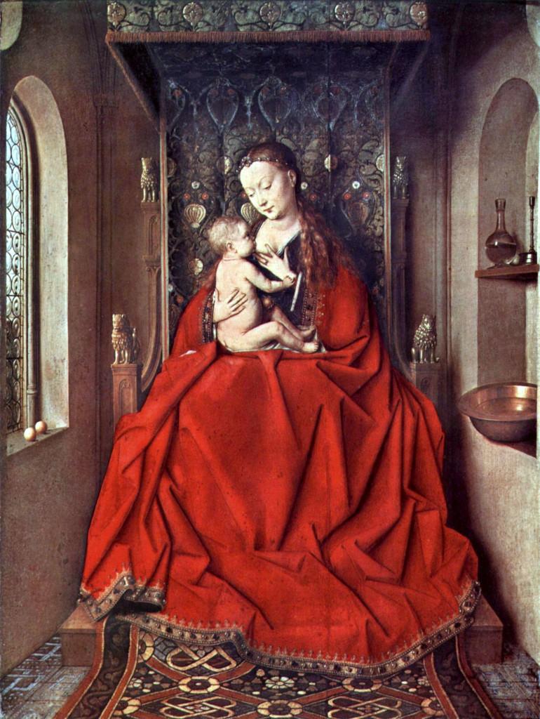 Jan van Eyck: Lucca Madonna