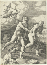 Lucas van Leyden: The Expulsion from Paradise
