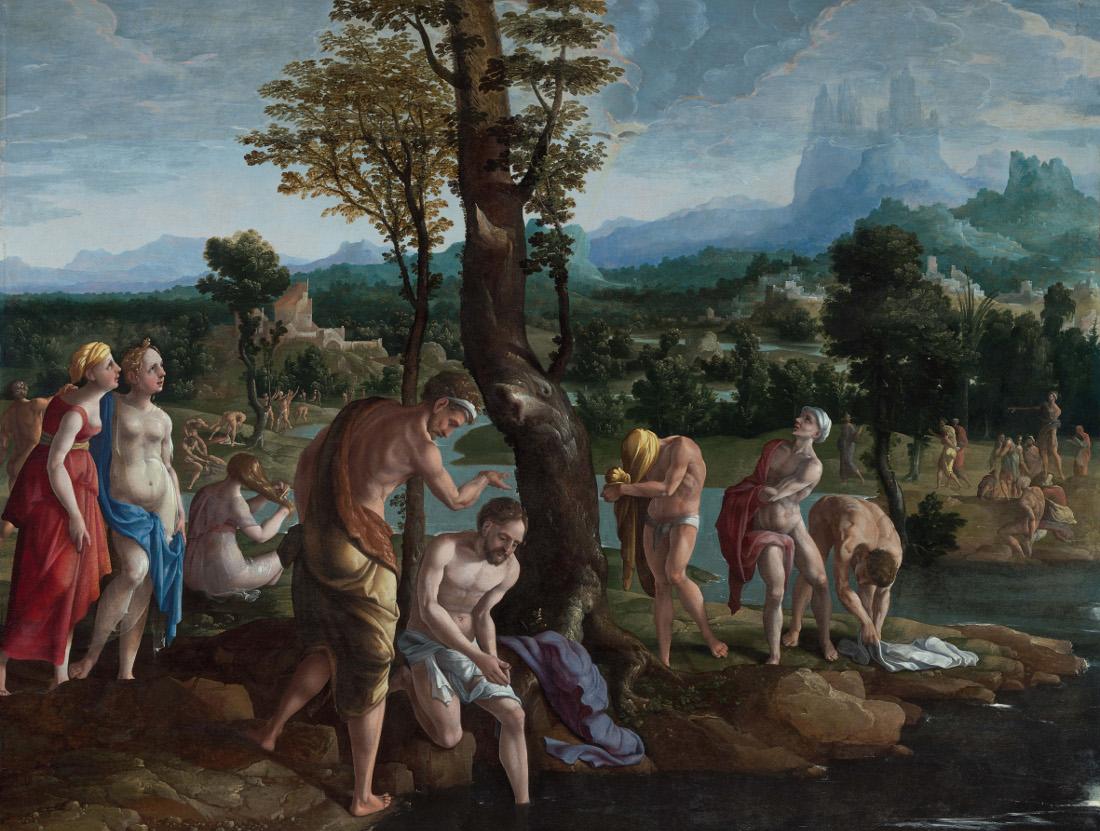 Jan van Scorel: The Baptism of Christ
