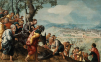 Jan van Scorel: Entry into Jerusalem