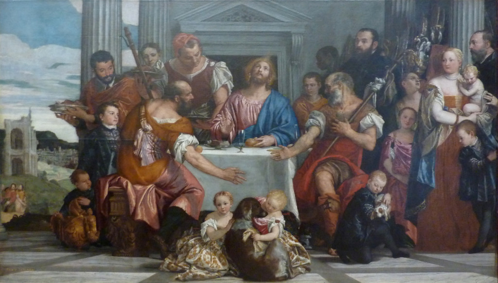 Paolo Veronese Supper In Emmaus