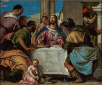 Paolo Veronese: Supper in Emmaus (1567)