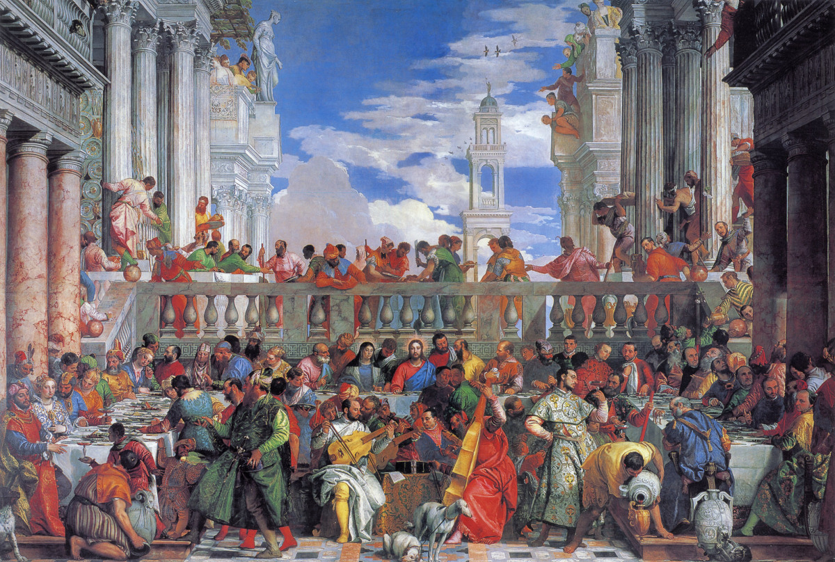 veronese marriage at cana The Wedding At Cana Painting By Paolo Veronese paolo veronese marriage at cana Veronese All Paintings