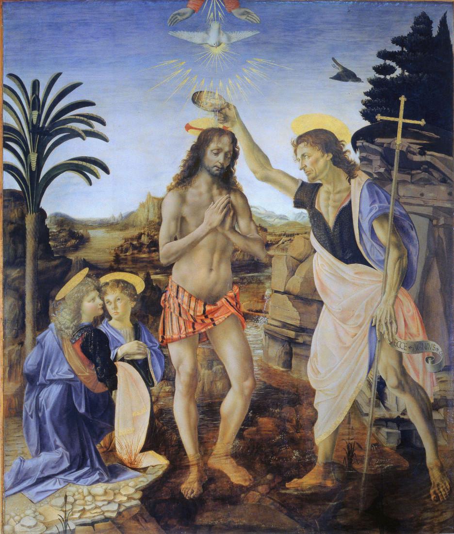 Andrea del Verrocchio: The Baptism of Christ