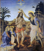 Andrea del Verrocchio: The Baptism of Christ