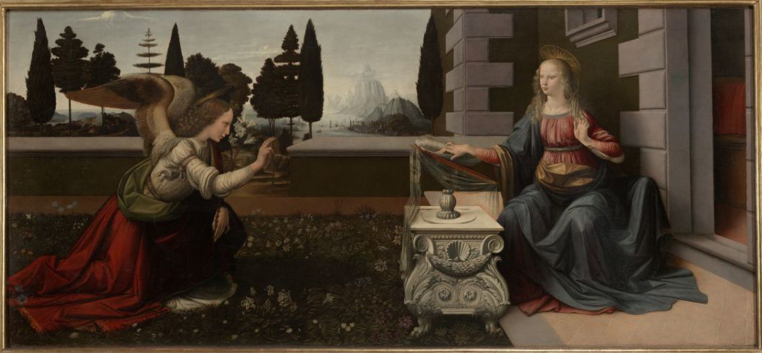 Leonardo da Vinci: The Annunciation