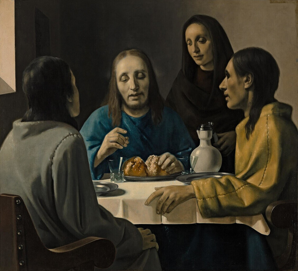 Han van Meegeren: The Supper at Emmaus