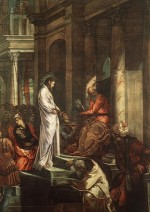 Il Tintoretto: Christ before Pilate