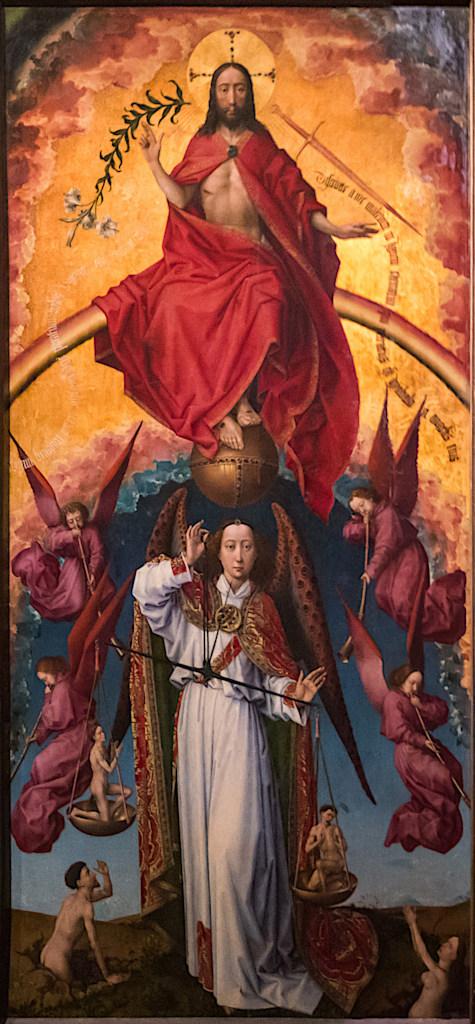Rogier van der Weyden: The Last Judgment - centre panel
