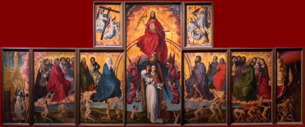 Rogier van der Weyden: El Juicio Final