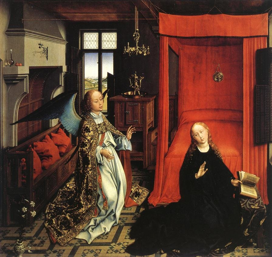 Rogier van der Weyden: The Annunciation