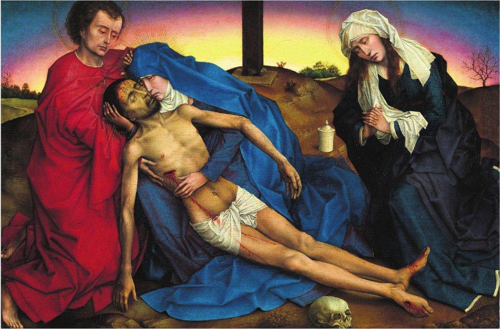 Rogier van der Weyden: La Piedad
