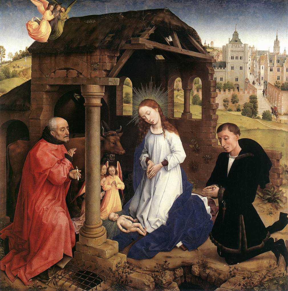 Art and the Bible home » art » work by Rogier van der Weyden