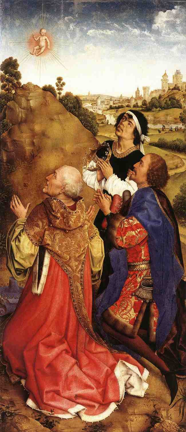 Rogier van der Weyden: The Vision of the Magi