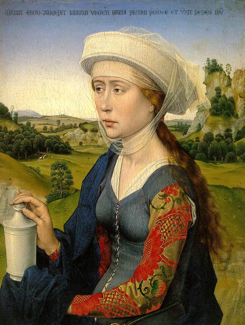 Rogier van der Weyden: Mary Magdalene (1450)
