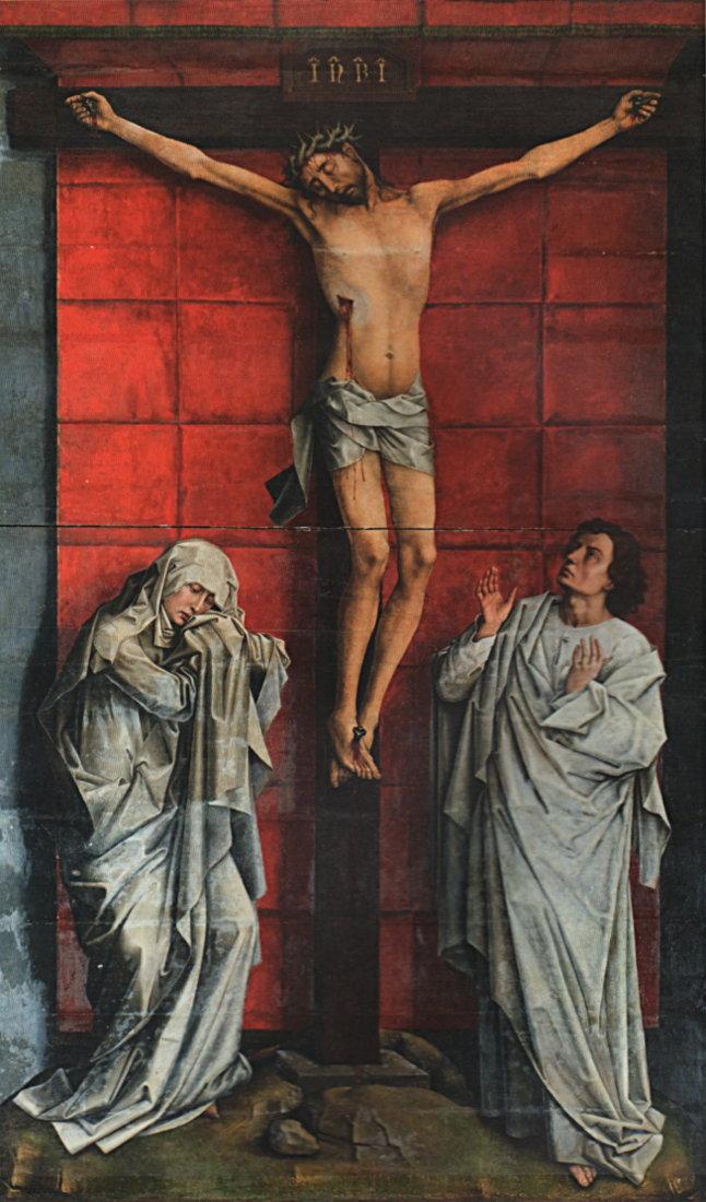 Rogier van der Weyden: Crucifixion
