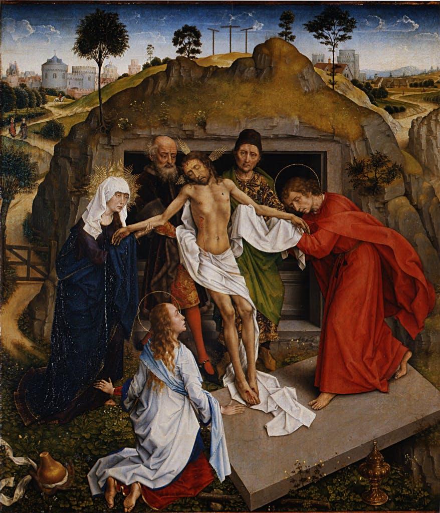 Biblical art by Rogier van der Weyden - 1