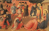 Fra Angelico: The Adoration of the Magi (1433-35)