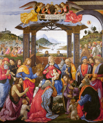 Domenico Ghirlandaio: The Adoration of the Magi (1488)