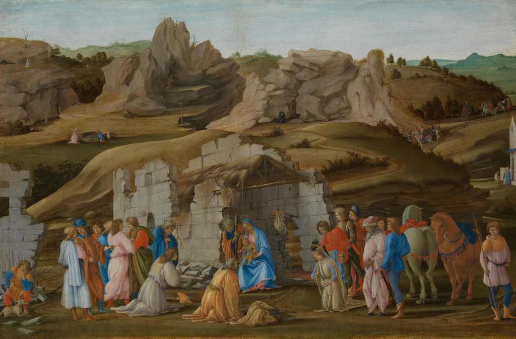 Filippino Lippi: The Adoration of the Magi