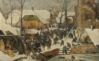 Pieter Bruegel the Elder: The Adoration of the Magi in the snow