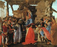 Botticelli: The Adoration of the Magi