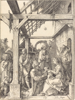 Albrecht Dürer: The Adoration of the Magi (engraving)
