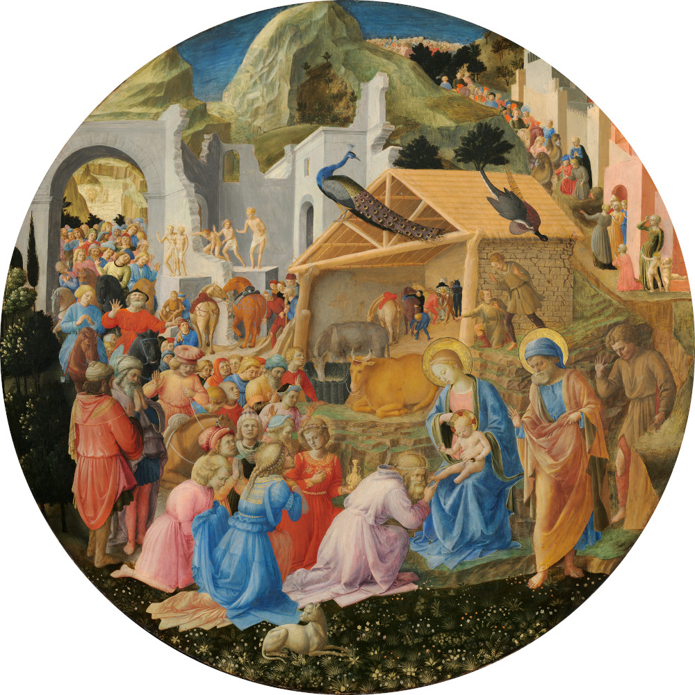 Fra Angelico: The Adoration of the Magi (1445)