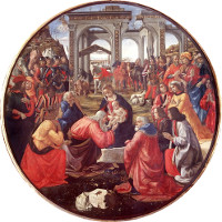 Domenico Ghirlandaio: The Adoration of the Magi (1487)