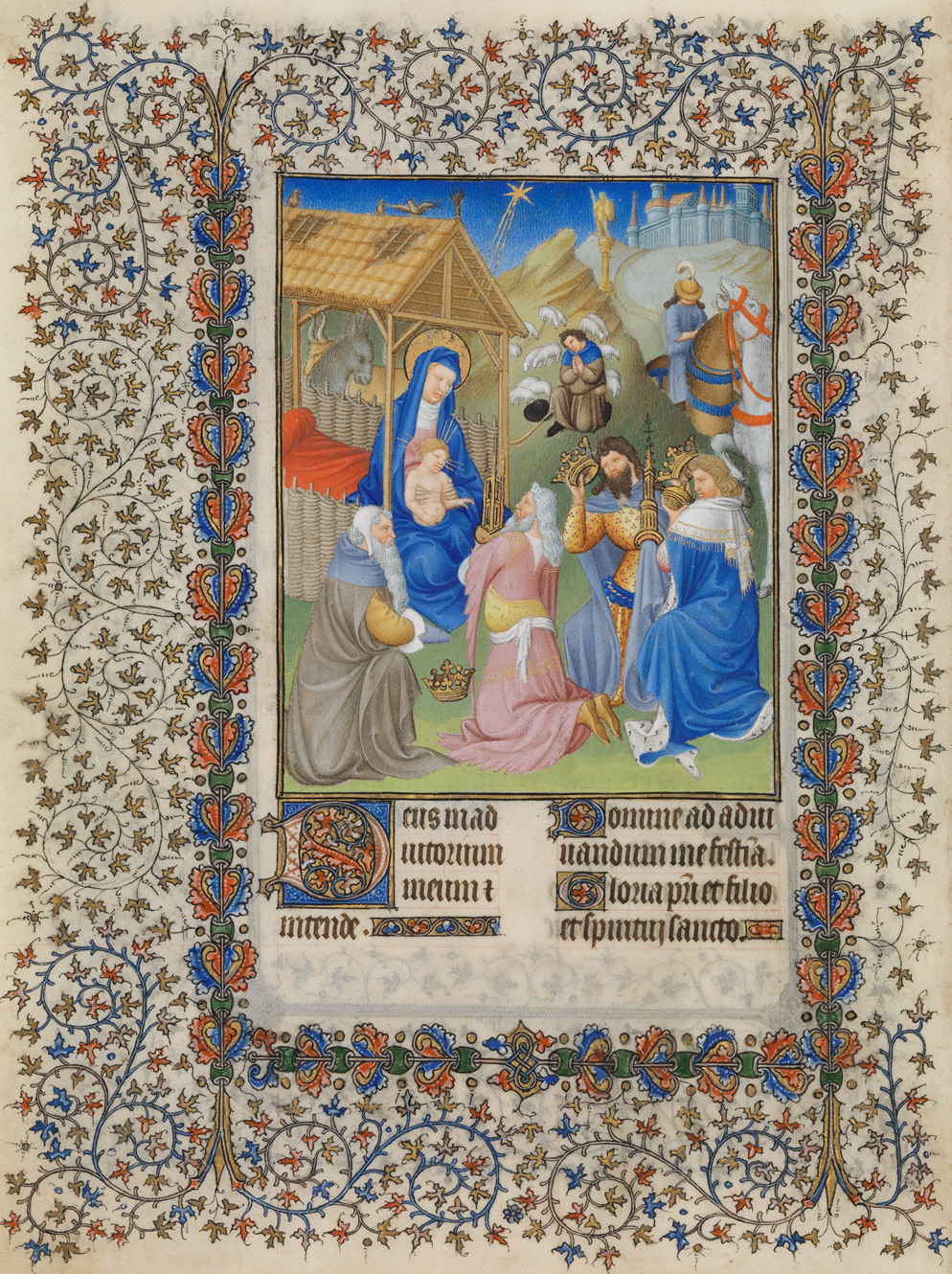 Van Limburg brothers: The Adoration of the Magi
