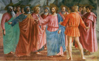 Masaccio: Rendering of the Tribute Money