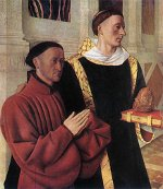 Jean Fouquet: Étienne Chevalier and St. Stephen