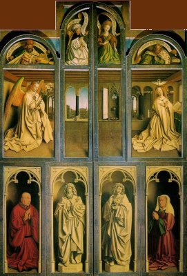 The Adoration of the Lamb of God - panels closed