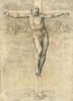 Michelangelo's Crucifixion drawing