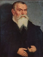 portrait of Lucas Cranach the Elder
