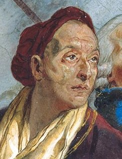 portrait of Giovanni Battista Tiepolo